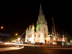 Santhome church by Night