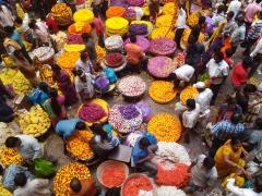Koyambedu Flower Market